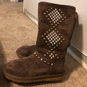 UGG zip up boots